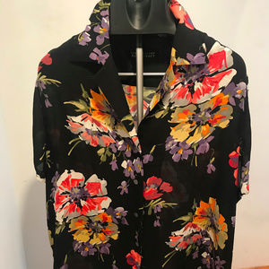 Ellen Tracy Silk Shirt